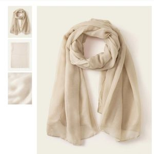 NEW Simple Classic Taupe Scarf